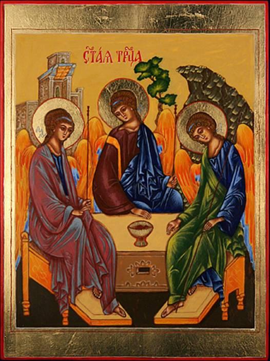 ...Троицы и молю Бога,чтобы все Ваши беды остались в прошлом,пусть хранит Вас икона Святой Троицы,а Господь не...